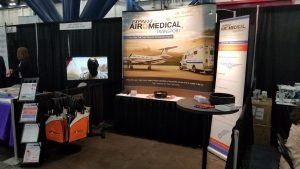 Express Air Medical Booth at 2018 ACMA National Conference